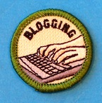 Insignia de Blogging