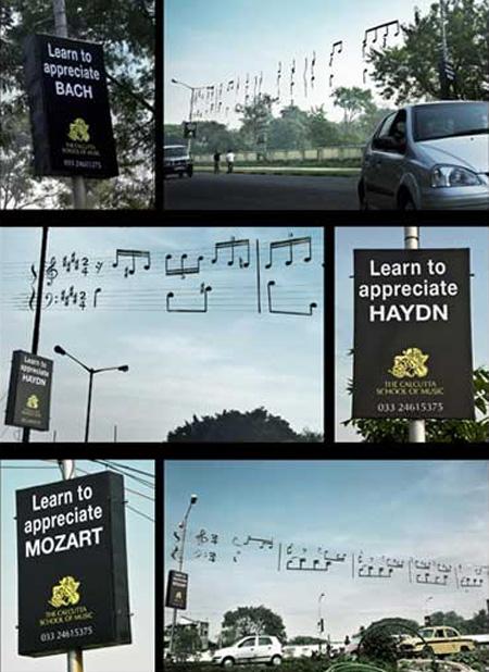 Publicidad BTL - Aprender Musica