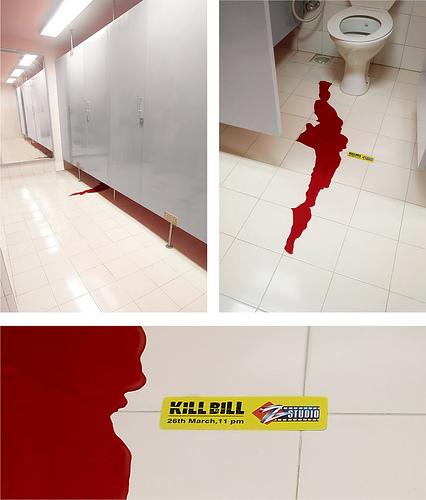 Publicidad BTL - Kill Bill